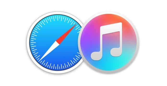 iTunes 12.8.1 is freezing Safari running on OS X Yosemite 10.10.5