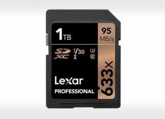 1TB SD Card by Lexar