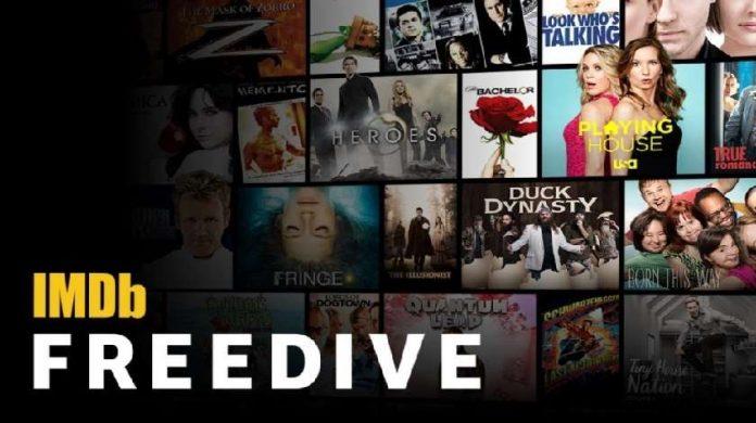 IMDb Freedive Amazon's New Streaming Service