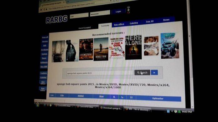 RARBG adds .exe files