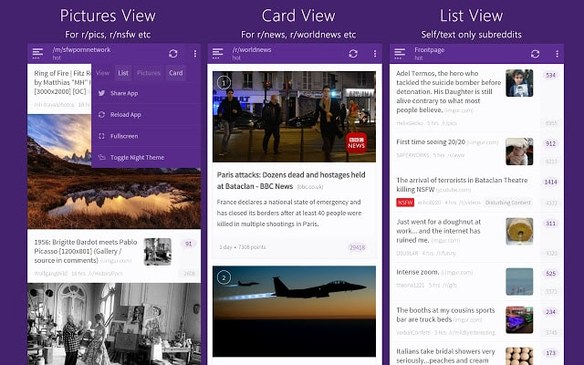 10 Best Reddit Clients For Android And Windows - Tech News Log