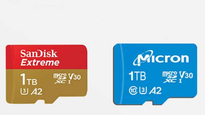MWC 2019: Western Digital and Micron announce 1TB microSD cards
