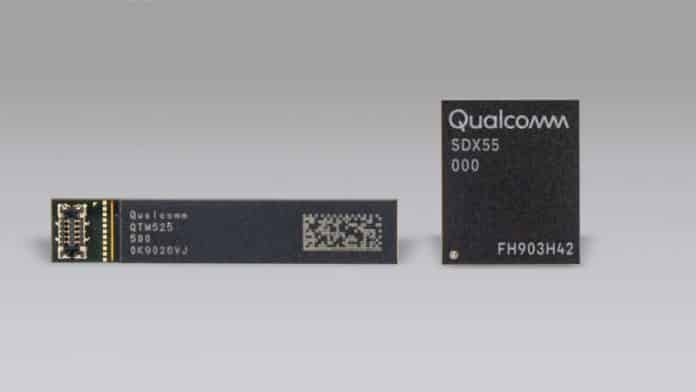 Qualcomm introduces the Snapdragon X55, a 7Gbps 5G modem