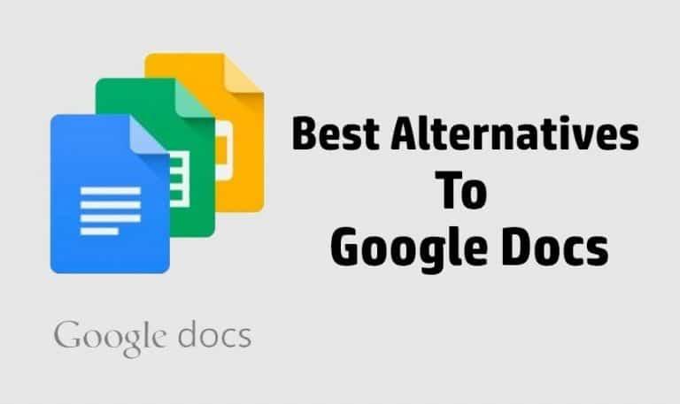 5 Best Alternatives To Google Docs In 2019