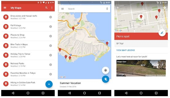 - Google My Maps - 10 Amazing Google Apps You Have Never Heard Of