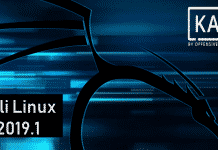 Kali Linux 2019.1 Released, Download Now!!!