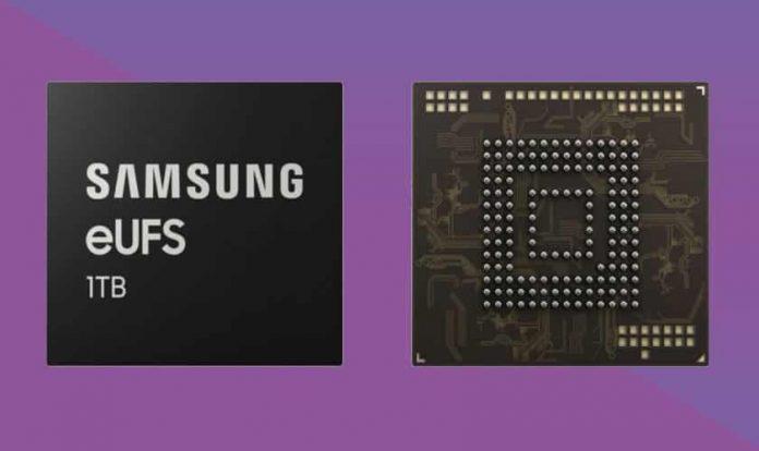 Samsung unveils 1TB flash storage