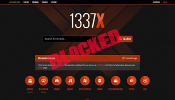 Spanish ISPs ordered to block 1337x