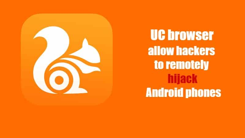 Hackers remotely hijack Android phones by exploiting insecure UC