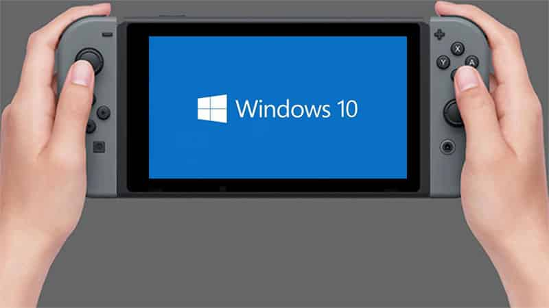 Running Windows 10 on Nintendo Switch could very soon be a reality  - Running Windows 10 on Nintendo Switch could very soon be a reality - Running Windows 10 on Nintendo Switch could very soon be a reality