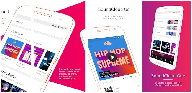 - Soundcloud - 10 Best Spotify Alternatives For Music Streaming