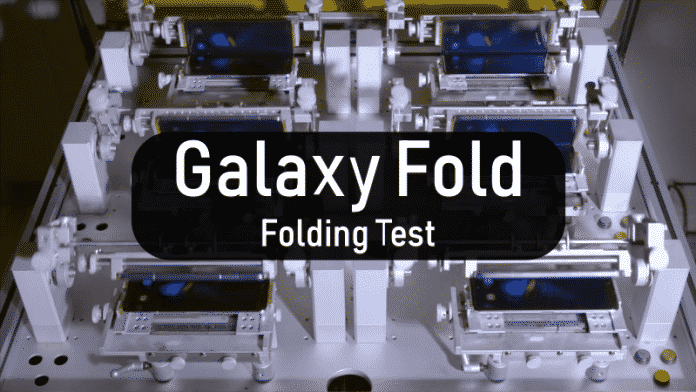 Samsung Galaxy Fold can survive 200,000 folds and unfolds