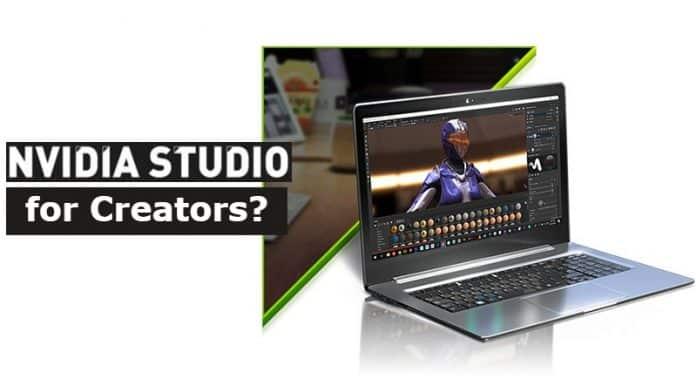 Nvidia announces its RTX Studio line of laptops aimed at creators