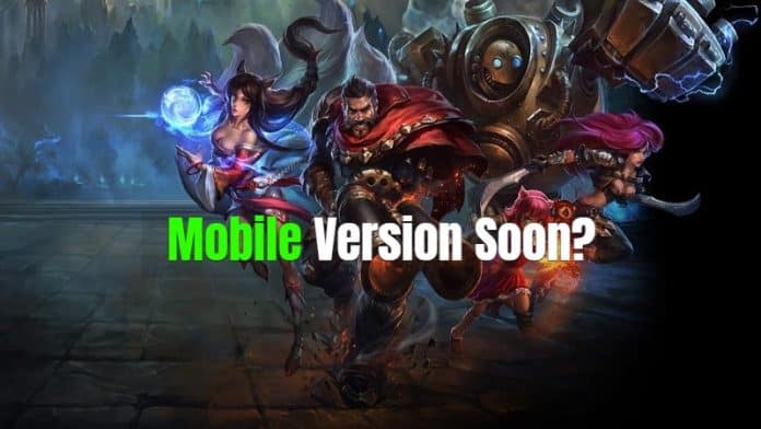 Popular 'League Of Legends' Game Could Soon Be Available On Smartphones