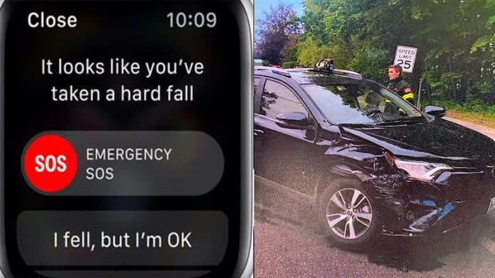 Apple Watch Series 4 Fall Detection Feature Saves 87-Year-Old woman Involved In A Car Accident
