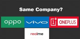 Company behind OPPO, VIVO, OnePlus and Realme Smartphones