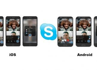 Skype publicly launches screen sharing on Android and iOS phones