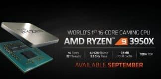 AMD's 16-Core Ryzen 9 3950X, 4.7 GHz CPU Coming This September