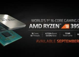 AMD's 16-Core Ryzen 9 3950X, 4.7 GHz CPU Coming This September