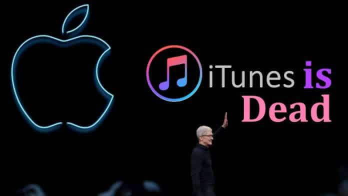 iTunes Is Dead, WWDC 2019 Marks The End Of iTunes
