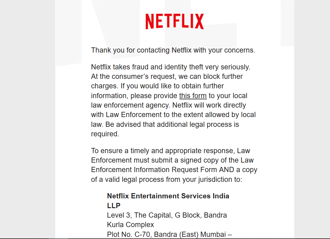 My Netflix Account Was Hacked And Customer Service Was Unable To Help Recover It
