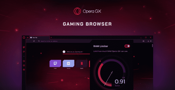 Opera launches world's first gaming browser 'Opera GX'