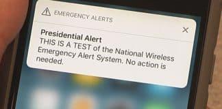 Presidential emergency alert