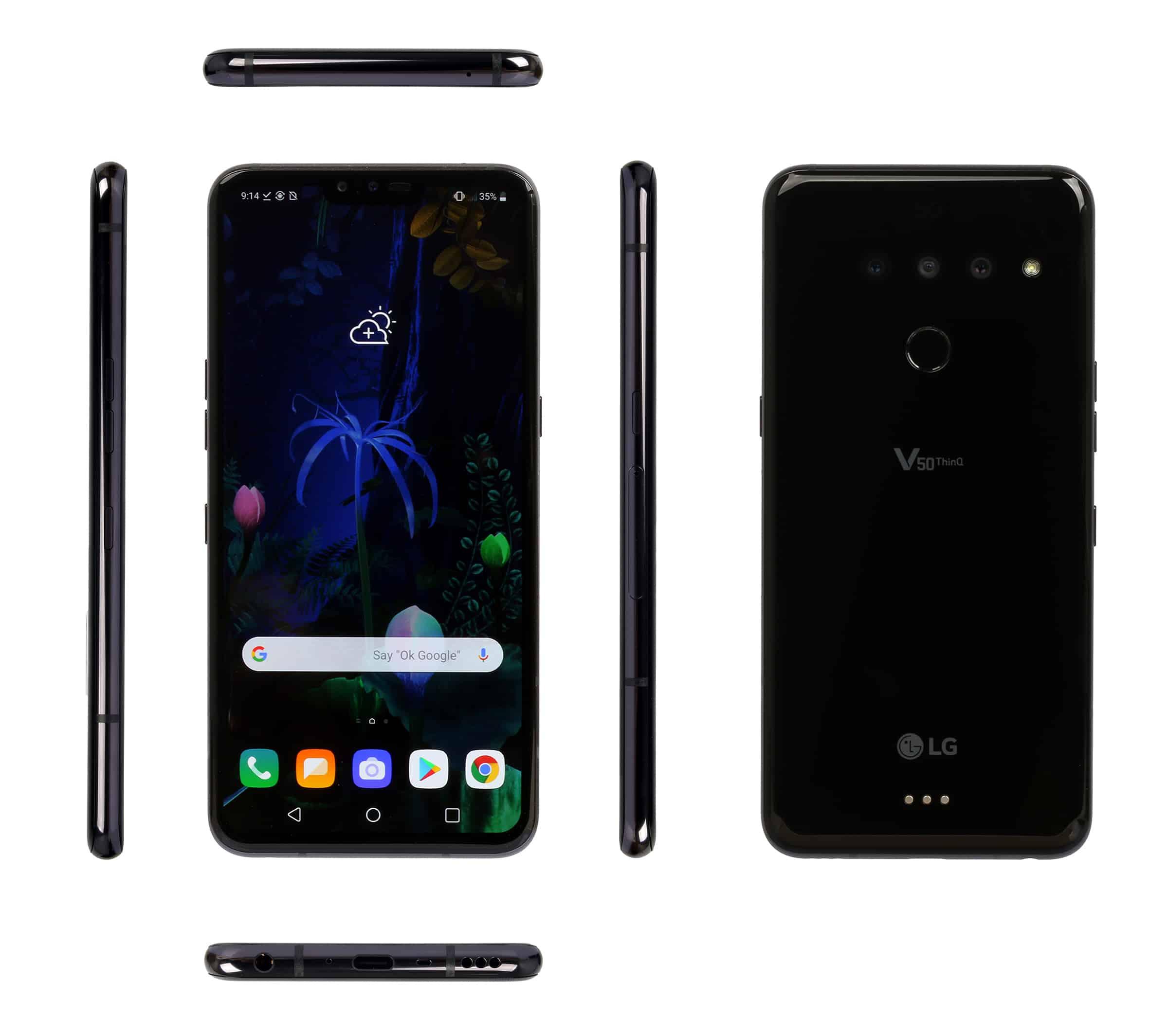 LG V50 ThinQ 5G smartphone