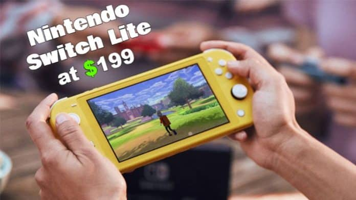 Nintendo announces its portable gaming machine 'Switch Lite' at $199