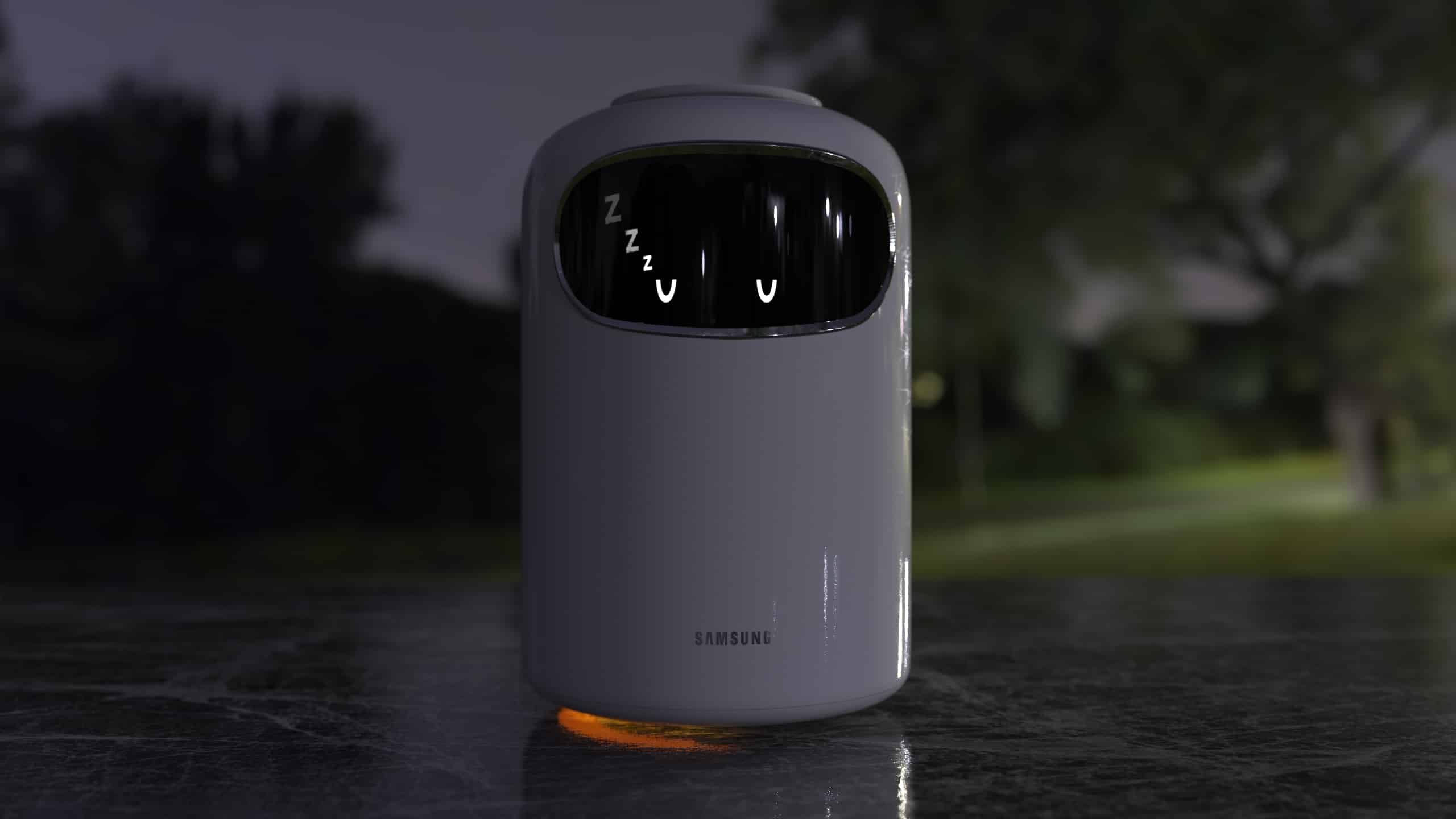 Samsung's Bot Air is an air-purifying robot.