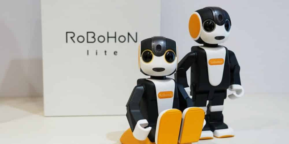 Sharp RoBoHon 2nd-Generation Toy Robot