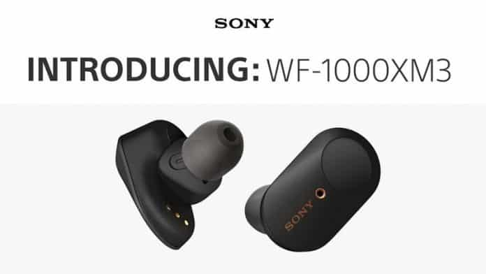 Sony WF-1000XM3 Truly Wireless Earphones With Active Noise Cancellation Announced