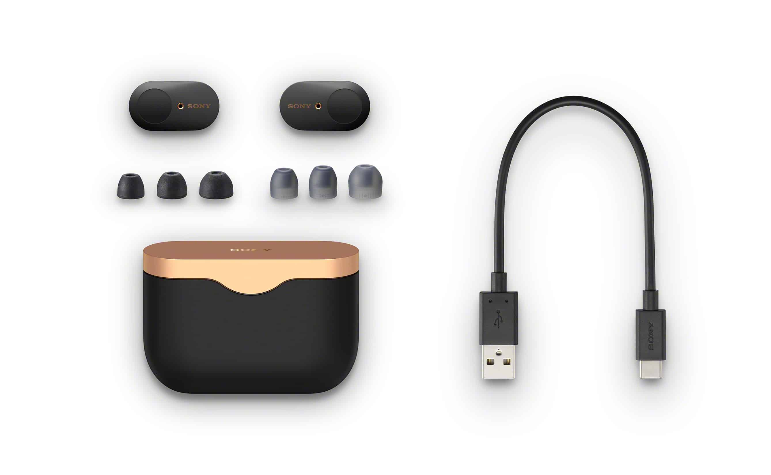Sony WF-1000XM3 Truly Wireless Earphones With With Active Noise Cancellation Announced