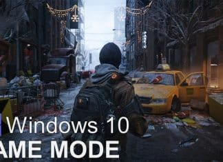 Enable Game Mode In Windows 10