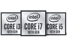 Intel unveils new 14nm 10th-generation processors for laptops