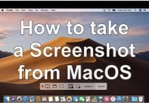 SCREENSHOT ON MACOS