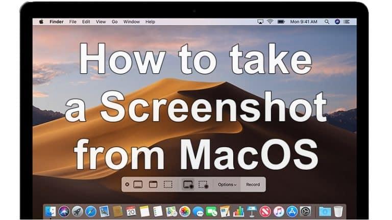 How To Take A Screenshot On macOS