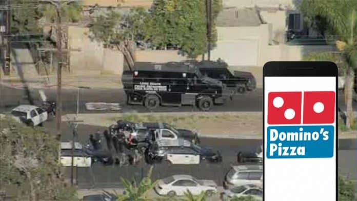 Domino's Pizza App Used By Someone To SWAT A Home In California