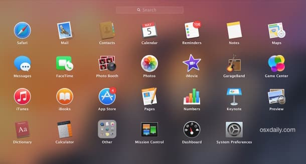Delete Apps From LaunchPad