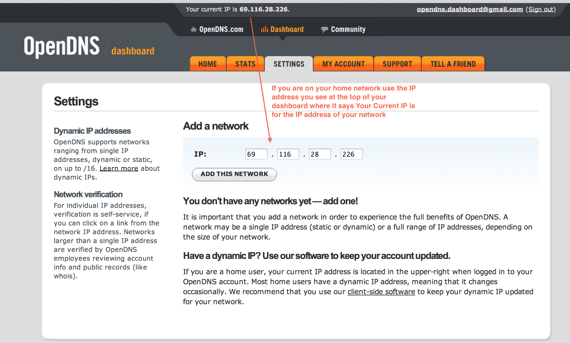 OpenDNS is a free DNS server