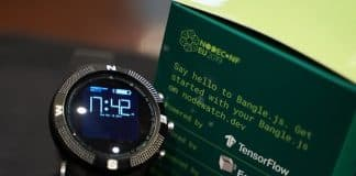 Bangle.js The Hackable Smartwatch Powered By Google's TensorFlow