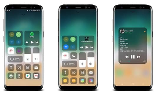 Control Center iOS 13- iOS emulator