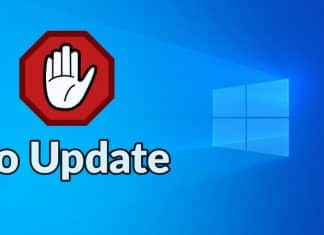 No update for windows 10