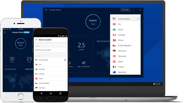 Hotspot Shield- Unlimited Bandwidth VPN