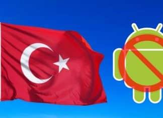 No Google Services in Turkey
