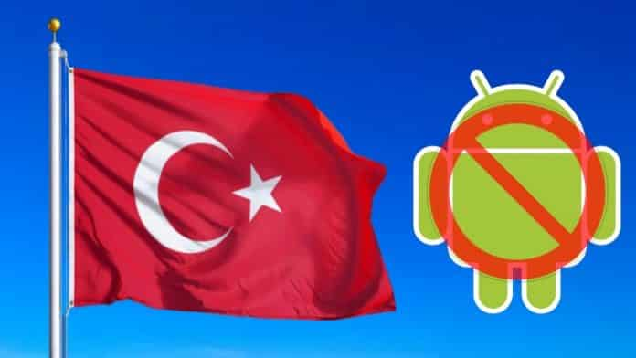 No Google Services in Turkey