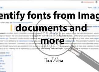 find font in images