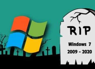 RIP Windows 7