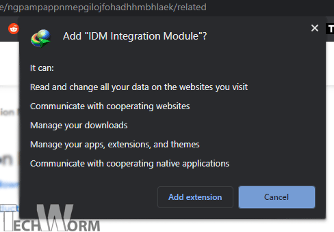 IDM Integration permissions