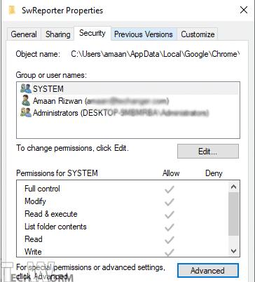 SWreporter-settings